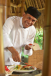 Chef Made, brings his talents from the Living Light Culinary Institute in California to bear upon a selection of organic offerings from Balinese suppliers.