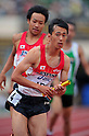 Kei Takase (JPN), JULY 10th, 2011 - Athletics : The 19th Asian Athletics Championships Hyogo/Kobe, Men's 4x400m Relay Final at Kobe Sports Park Stadium, Hyogo in Japan. (Photo by Jun Tsukida/AFLO SPORT) [0003].