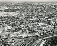 UNDATED..Historical..Tidewater Gardens (6-2 & 6-9)..Aerial view looking North before demolition..PHOTO CRAFTSMEN INC..NEG# 18-489.NRHA# 677..