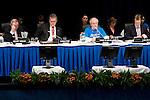 Michael Cutajar, AWG-LCA Chair speaks during the final plenary of the AWG-LCA. Bonn Climate Change talks. (©Robert vanWaarden)