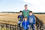 At the Ballyheigue Ploughing Match on Sunday were James Godley, Brandon Leane, Alex Leane, Willy Joe Leane, Ballyheigue