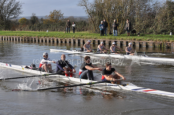 301 COX Oxford. Wycliffe Small Boats Head 2011. Saturday 3 December 2011. c. 2500m on the Gloucester Berkeley Canal