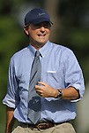 07 September 2012: UNC head coach Anson Dorrance. The University of North Carolina Tar Heels defeated the Marquette University Golden Eagles 4-0 at Koskinen Stadium in Durham, North Carolina in a 2012 NCAA Division I Women's Soccer game.