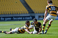 ITM Cup rugby match between Wellington Lions and Taranaki at Westpac Stadium, Wellington, New Zealand on Sunday, 14 October 2012<br />
