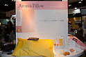 February 8th, 2012 : Tokyo, Japan - Aroma Pillow is displayed for The 73rd Tokyo International Gift show 2012 at Tokyo Big Sight. People can put the aroma inside of the pillow and smell good while sleeping. There are over 3 million items including gift products and everyday goods. 2500 exhibitors showcase their unique products. This exhibition is held from February 8 to 10. (Photo by Yumeto Yamazaki/AFLO)..