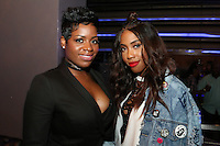NEW YORK, NY - AUGUST 16, 2016 Fantasia & Sevyn Streeter attend the Radio One: The Blitz Music Showcase at Stage 48 August 16, 2016 in New York City. Photo Credit: Walik Goshorn / Mediapunch