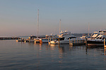 Duncan L. Clinch Marina and Yacht Harbor, Lake Michigan, Traverse City, Michigan, MI, USA