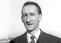 Stanley Wynne, schoolteacher, alderman, Enniskillen Borough Council, who stood as a Liberal Party candidate in a by-election for the Lisnaskea seat in the N Ireland Parliament, February 1968. 196802000092<br /> <br /> Copyright Image from Victor Patterson, 54 Dorchester Park, Belfast, UK, BT9 6RJ<br /> <br /> t1: +44 28 9066 1296 (from Rep of Ireland 048 9066 1296)<br /> t2: +44 28 9002 2446 (from Rep of Ireland 048 9002 2446)<br /> m: +44 7802 353836<br /> <br /> e1: victorpatterson@me.com<br /> e2: victorpatterson@gmail.com<br /> <br /> The use of my copyright images is subject to my Terms &amp; Conditions.<br /> <br /> It is IMPORTANT that you familiarise yourself with them. They are available on my website at www.victorpatterson.com.<br /> <br /> None of my copyright images may be used on a website unless they are visibly watermarked, i.e. &copy; Victor Patterson within the body of the visible image. Metadata denoting my copyright must NOT be deleted. <br /> <br /> Web use is extra at currently recommended NUJ rates.