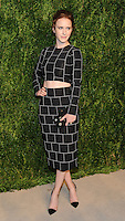 NEW YORK, NY - NOVEMBER 07:  Rachel Brosnahan attends 13th Annual CFDA/Vogue Fashion Fund Awards at Spring Studios on November 7, 2016 in New York City. Photo by John Palmer/MediaPunch