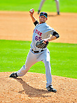 8 March 2009: New York Mets' pitcher Kyle Snyder in action during a Spring Training game against the Washington Nationals at Space Coast Stadium in Viera, Florida. The Nationals defeated the Mets 8-3 in the Grapefruit League matchup. Mandatory Photo Credit: Ed Wolfstein Photo