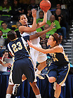 Jan. 17, 2012; Skylar Diggins vs. Pittsburgh..Photo by Matt Cashore/University of Notre Dame