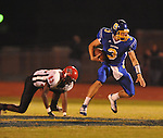 Oxford High's Parker Adamson (3) runs vs. Center Hill in Oxford, Miss. on Friday, September 23, 2011.