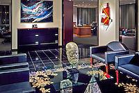 Albert G. Ruben, entertainment division, offices, Los Angeles, CA