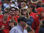 Sarah Brooke Gober and Jeb Bishop at Vaught-Hemingway Stadium in Oxford, Miss. on Saturday, September 24, 2011. Georgia won 27-13.