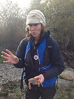 Naturalist Jolie Shea Talks Nature, Prevost Island, Gulf Islands, British Columbia, Canada