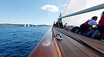 "Onboard Velsheda during ""Les Voiles de Saint Tropez"", France."