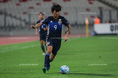 Koki Ogawa (JPN), OCTOBER 30, 2016 - Football / Soccer : AFC U-19 Championship Bahrain 2016 Final match between Japan 0(5-3)0 Saudi Arabia at Bahrain National Stadium in Riffa, Bahrain. (Photo by AFLO)
