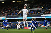 Queens Park Rangers' Matt Smith gets ahead of Cardiff City's Sol Bamba<br /> <br /> Photographer /Rob NewellCameraSport<br /> <br /> The EFL Sky Bet Championship - Queens Park Rangers v Cardiff City - Saturday 4th March 2017 - Loftus Road - London<br /> <br /> World Copyright &copy; 2017 CameraSport. All rights reserved. 43 Linden Ave. Countesthorpe. Leicester. England. LE8 5PG - Tel: +44 (0) 116 277 4147 - admin@camerasport.com - www.camerasport.com