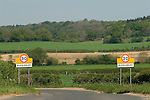 Bucklebury Berkshire UK. Where the Kate Middleton family home is. The village signs. Typical Berkshire farming and wealthy commuter village.