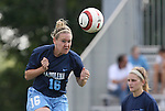 North Carolina's Jennifer Perkins during pregame warmups on Sunday September 17th, 2006 at Koskinen Stadium on the campus of the Duke University in Durham, North Carolina. The University of North Carolina Tarheels defeated the University of Florida Gators 1-0 in an NCAA Division I Women's Soccer game.
