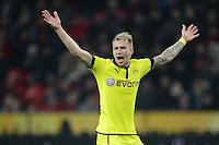 FUSSBALL   1. BUNDESLIGA   SAISON 2012/2013    20. SPIELTAG Bayer 04 Leverkusen - Borussia Dortmund                  03.02.2013 Marco Reus (Borussia Dortmund)