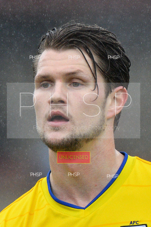 18/03/2017 Sky Bet League 1 Fleetwood Town v AFC Wimbledon<br /> <br /> Jake Reeves, AFC Wimbledon