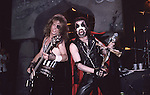 KING DIAMOND , Live , 1986 , DAVID PLASTIK