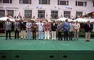 August 26th, 1984. Presentation of the jury of the 34th Concours D'Elegance at Peeble Beach, CA.