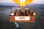 20110731 Sunday 31st July GC Hot Air Ballooning - VH-TNQ