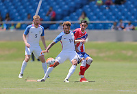 Bayamón, Puerto Rico - May 22, 2016: The USMNT take a 3-1 lead over Puerto Rico in second half action during a warm up friendly match at Juan Ramón Loubriel Stadium.