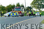 car accident on road near ballyseede on monday
