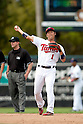 Tsuyoshi Nishioka (Twins), MARCH 8, 2012 - MLB : Tsuyoshi Nishioka of the Minnesota Twins during a spring training game against the Tampa Bay Rays at Hammond Stadium in Fort Myers, Florida, United States. (Photo by Thomas Anderson/AFLO) (JAPANESE NEWSPAPER OUT)