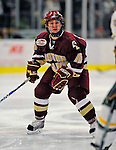 9 January 2009: Boston College Eagles' forward Joe Whitney, a Sophomore from Reading, MA, in action during the first game of their weekend series against the University of Vermont Catamounts at Gutterson Fieldhouse in Burlington, Vermont. The Catamounts scored with one second remaining in regulation time to earn a 3-3 tie with the visiting Eagles. Mandatory Photo Credit: Ed Wolfstein Photo
