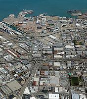 Aerial photograph Mission Bay Showplace Square San Francisco California