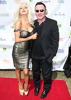 LOS ANGELES, CA, USA - SEPTEMBER 21: Courtney Stodden and Doug Hutchison arrive at The LA Feline Film Festival held at the Memorial Coliseum on September 21, 2014 in Los Angeles, California, United States. (Photo by Xavier Collin/Celebrity Monitor)