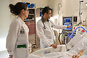St. Mary's Medical Center. Jenna Pariseau, class of 2014, Kishore Kumar, M.D., release 20120523001, and patient Wendy Dobbins, release 20120523003.