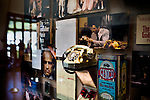 """The Movie Gallery displays memorabilia from Francis Coppola's film career, including the 1948 Tucker car from the movie """"Tucker: The Man and His Dream,"""" and upstairs, Vito Corleone's desk, from the Godfather, at Francis Ford Coppola Winery, in Geyserville, Ca., on Saturday, July 31, 2010."""
