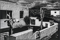 Europe, Espagne, Iles Canaries, Lanzarote:  Casas de El Golfo : Maisons du village  // Europe, Spain, Canary Islands, Lanzarote: Casas de El Golfo, village houses