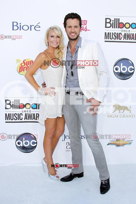 Caroline Bryan and Luke Bryan at the 2012 Billboard Music Awards held at the MGM Grand Garden Arena on May 20, 2012 in Las Vegas, Nevada. ©mpi28/MediaPUnch Inc.