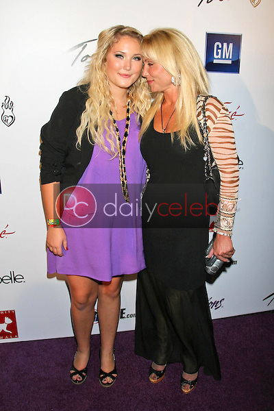 Hayley Hasselhoff and Pamela Bach<br />at Celebrity Catwalk for Charity. The Highlands Nightclub, Hollywood, CA. 08-16-07<br />Dave Edwards/DailyCeleb.com 818-249-4998