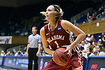 22 March 2014: Oklahoma's Nicole Kornet. The DePaul University Blue Demon played the University of Oklahoma Sooners in an NCAA Division I Women's Basketball Tournament First Round game at Cameron Indoor Stadium in Durham, North Carolina. DePaul won the game 104-100.