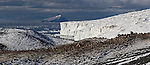 Adelie  Penguin colony. Cape Bird and Beaufort Island.  Ross Island. Antarctica