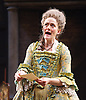 She Stoops to Conquer<br /> by Oliver Goldsmith <br /> directed by James Lloyd<br /> at the Olivier Theatre, Southbank, London, Great Britain <br /> 30th January 2012<br /> <br /> Sophie Thompson (as Mrs Hardcastle)<br /> <br /> <br /> <br /> Photograph by Elliott Franks