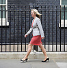Downing Street after meetings at The House of Commons to appoint new government ministers<br /> 11th May 2015 <br /> <br /> new cabinet ministers arriving or leaving 10 Downing Street <br /> <br /> Elizabeth Truss<br /> Environment Secretary <br /> <br /> <br /> <br /> Photograph by Elliott Franks <br /> Image licensed to Elliott Franks Photography Services