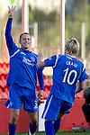 Hamilton Accies v St Johnstone..23.10.10  .Danny Grainger celebrates his goal.Picture by Graeme Hart..Copyright Perthshire Picture Agency.Tel: 01738 623350  Mobile: 07990 594431