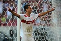 Fussball Europa League Play Offs:  Saison   2012/2013     VfB Stuttgart - Dynamo Moskau  22.08.2012 Jubel nach dem Tor  Vedad Ibisevic  (VfB Stuttgart)
