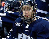 Brett Kostolansky (UNH - 15) - The University of New Hampshire Wildcats defeated the Miami University RedHawks 3-1 (EN) in their NCAA Northeast Regional Semi-Final on Saturday, March 26, 2011, at Verizon Wireless Arena in Manchester, New Hampshire.