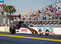 Mar 19, 2017; Gainesville , FL, USA; NHRA top fuel driver Steve Torrence during the Gatornationals at Gainesville Raceway. Mandatory Credit: Mark J. Rebilas-USA TODAY Sports