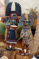 Painted, detailed and feathered this kachina carving went from a piece of wood one day to a diety the next. Price for the transition $250 is the starting price.