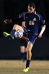 24 November 2013: Navy's Joseph Greenspan. The Wake Forest University Demon Deacons played the Naval Academy Midshipmen at Spry Stadium in Winston-Salem, NC in a 2013 NCAA Division I Men's Soccer Tournament Second Round match. Wake Forest won the game 2-1.